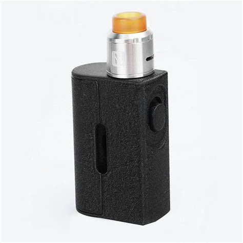 Squeezer Squonk Mod Kit By Hugo Vapor authentic hugo vapor squeezer black 10ml squonk mod 25mm
