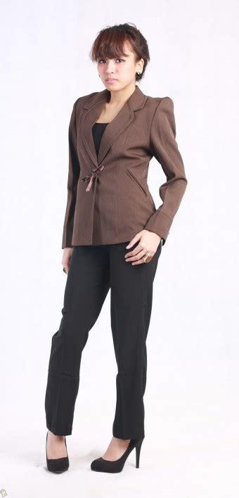 Blazer Coklat Wanita store co id baju wanita voleta blazer coklat l