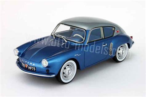alpine a106 renault alpine a106 miniature mille 1958 grise et