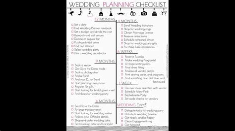 wedding planner guide youtube