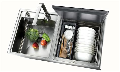 Dishwasher Sink Combo by Small Kitchens Will This New Mini Dishwasher Sink