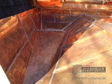 copper walls flat lock roof wall panels copper steel aluminum more