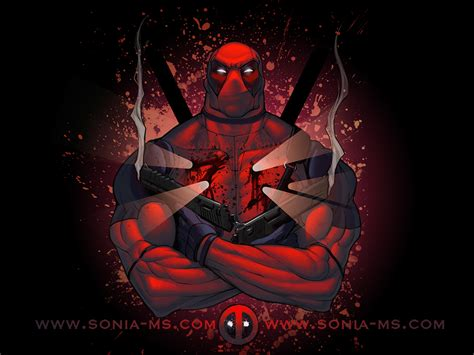 Tas Deadpool deadpool wallpaper by soniamatas on deviantart