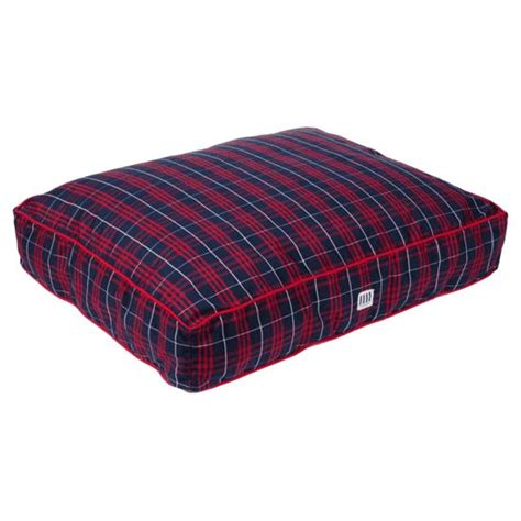 plaid dog bed red plaid dog bed huntersalley cabin fever pinterest