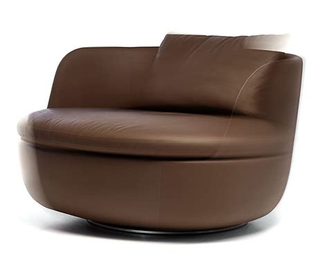 Club Swivel Chairs Bart Swivel Lounge Chair Hivemodern Com