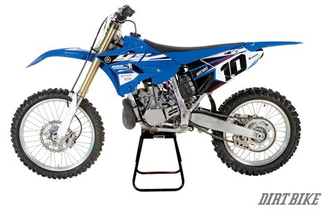 dirt bike magazine riding the new yz two strokes