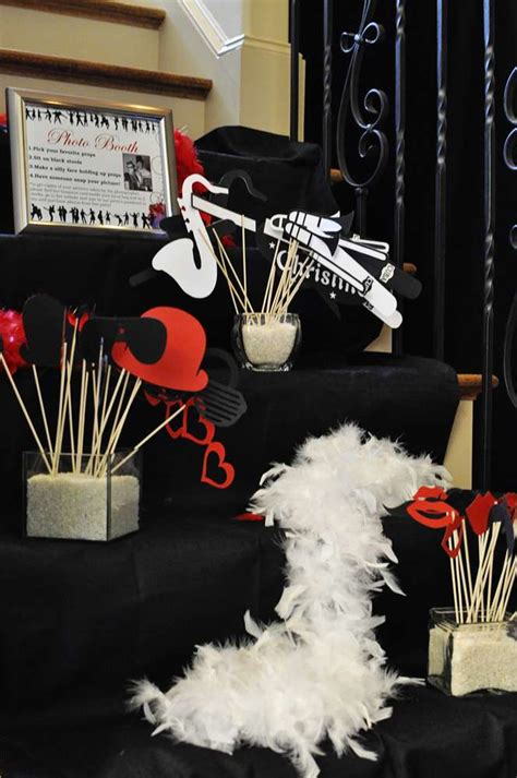 jazz themed decorations 1950 s swing jazz club birthday ideas