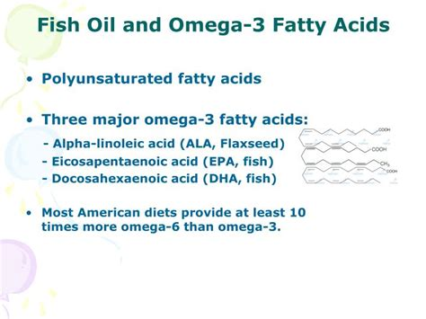 Fish Omega 3 Fatty Acids by Ppt The Benefit And Risks Of Nutritional Supplements
