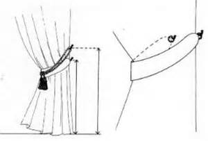 where to place tie back hooks for curtains tie back curtains without hooks rooms
