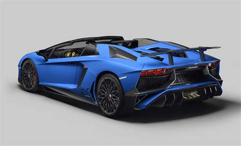New Lamborghini Limited Edition Lamborghini Aventador Lp 750 4 Superveloce Roadster 5
