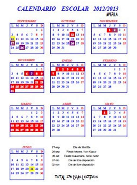 recursos educativos de educaci 243 n infantil calendario
