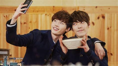 film korea lee jong suk dan kim woo bin lee min ho para bintang drama korea ini ternyata teman