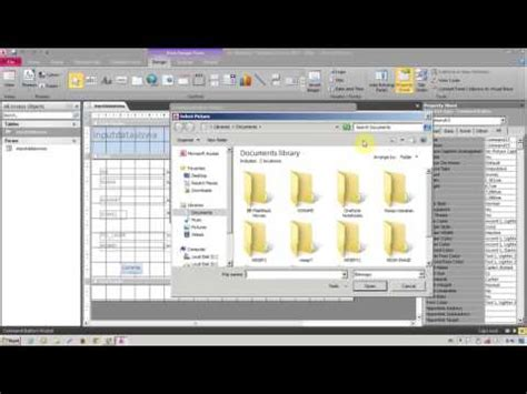 membuat database excel 2010 cara membuat database di microsoft access 2010