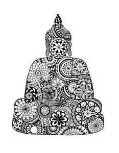 George Duvet Cover Quot Mandala Buddha Quot By Nickysmandalas Redbubble