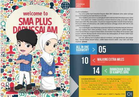 desain majalah sekolah layanan cv azr niaga kreatif