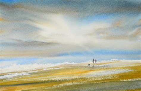 Modern Home Living keith nash landscape and marine artist in watercolours