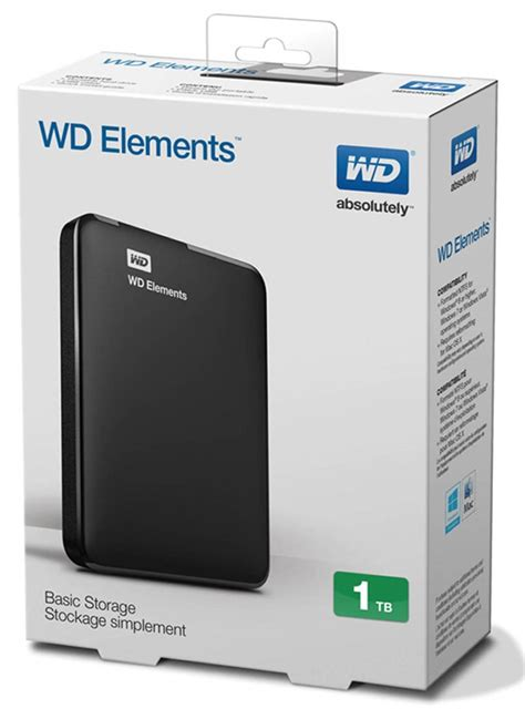 Hdd External Wd Elements 500gb 2 5 external drives wd elements 2 5 inch 1tb portable