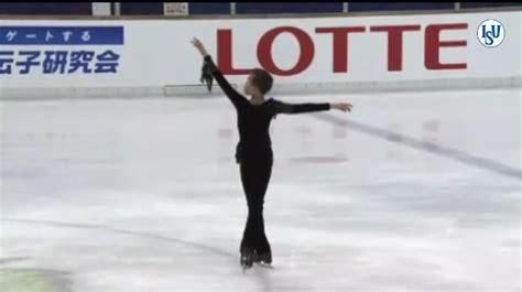 congratulation james min silver blades figure skating club