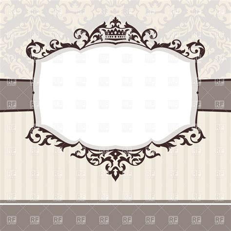 how to create a vector decorative frame in illustrator abstract cute decorative vintage frame royalty free vector