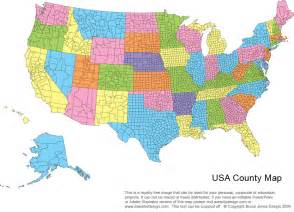 us map of counties us printable county maps royalty free