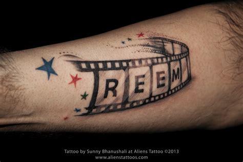 tattoo name sunny name on reel tattoo inked by sunny at aliens tattoo mumbai