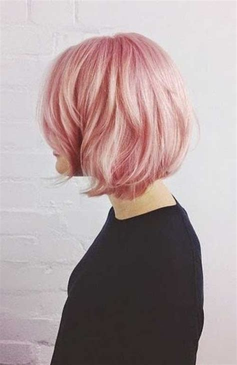 haircuts for colored pink hair 20 bob haircuts for girls short hairstyles 2017 2018