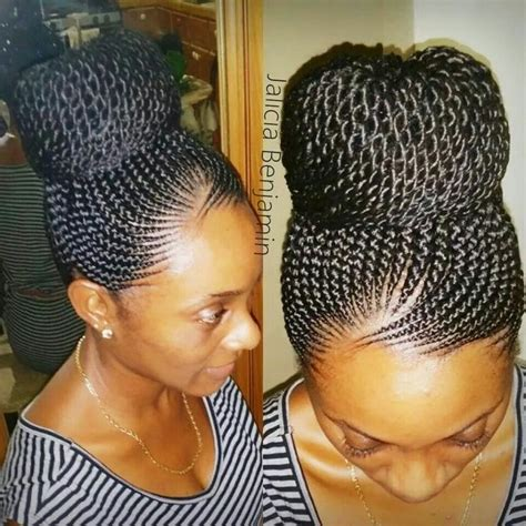 professional look cornrow hairstyles pretty braid bun braided hair styles for african
