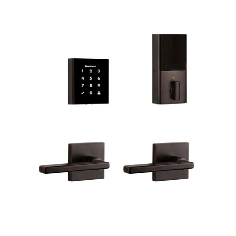 rubbed bronze ls lockstate electronic keyless deadbolt lock with remote