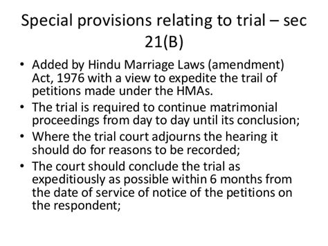 hindu marriage act section 10 divorce