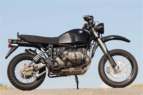 bmw r100gs scrambler r100gs scrambler update bmw motorcycle magazine