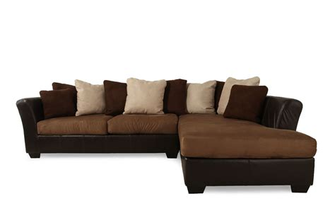 sectional sofa clips ashley masoli mocha two piece sectional mathis brothers