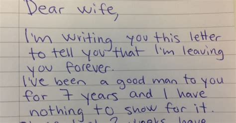 Viral Divorce Letter He Demands A Divorce In Letter To But Reply Makes Him Regret Every Word