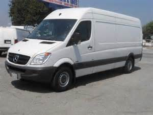 Mercedes Sprinter Cargo For Sale 26 995 2010 Mercedes Sprinter Cargo Vans For Sale