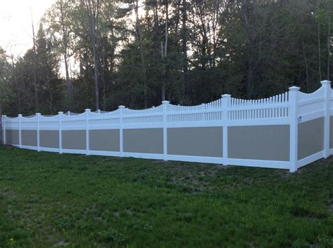 Arbors For Backyards Vinyl Fence With Picket Accent Whitesboro Ny Poly