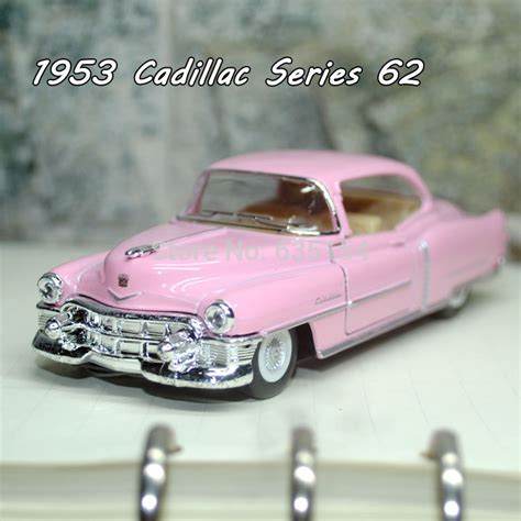 Diecast Cadillac Series 62 Coupe 1953 brand new cool 1 43 scale classic 1953 cadillac series 62 diecast metal pull back car model