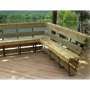 support m 233 tallique pour banc de patio 201 triers plaques