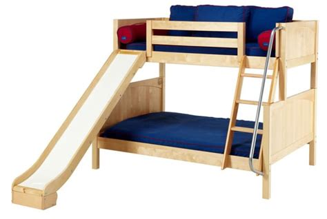 Toddler Bunk Bed With Slide Bunk Mattress With Slidedesign And Style Homefurniture Org