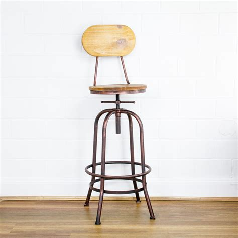 retro swivel bar stools retro industrial bronze swivel steel bar stools kitchen