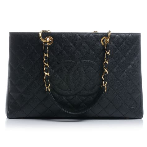 Chanel Gst Caviar Ghw 5266 chanel caviar xl grand shopping tote gst black ghw 47761