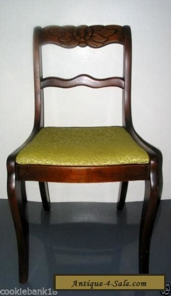 Duncan Phyfe Dining Chairs For Sale Antique Wood Mahogany Duncan Phyfe Style Carved Dining Room Chair For Sale In United States
