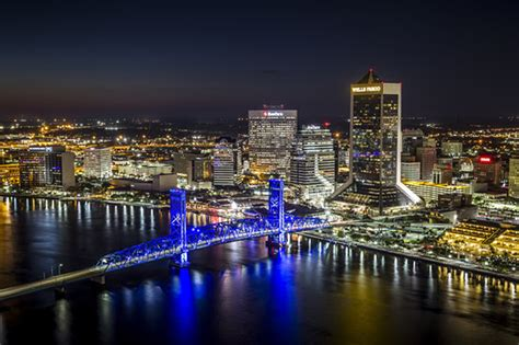 jacksonville fl the jacksonville skyline at picture of
