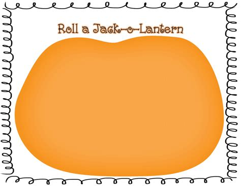 roll a jack o lantern printable 2013 calendar printable 5 male models picture