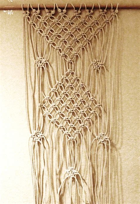 Macrame Rope Patterns - 17 best images about macrame curtains on