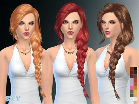sims 2 female hair tsr the sims resource the sims resource hair 257 by skysims sims 4 downloads