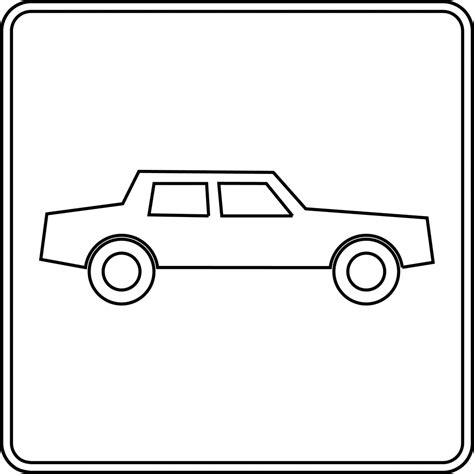 Automobile Outline Clip by Car Outlines Clipart Best