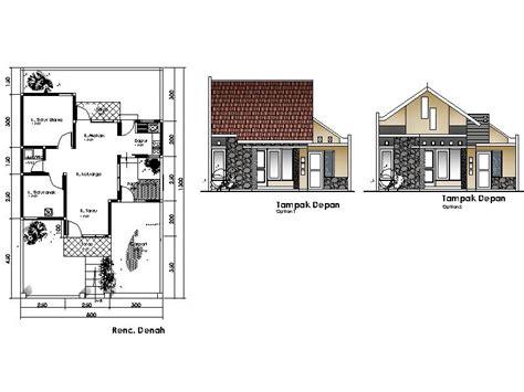 denah dan desain rumah minimalis terbaru 2016