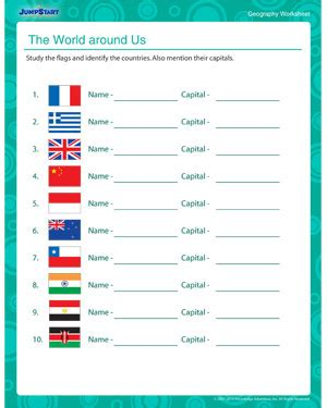 flags of the world quiz sheet 4 best images of free printable world flags geography