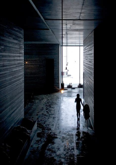 Zumthor Vals by Zumthor S Therme Vals Spa Photographed By Fernando