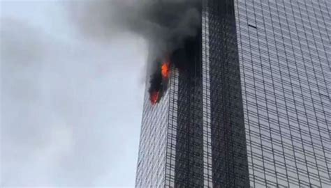 trump tower one injured in new york trump tower fire newshub