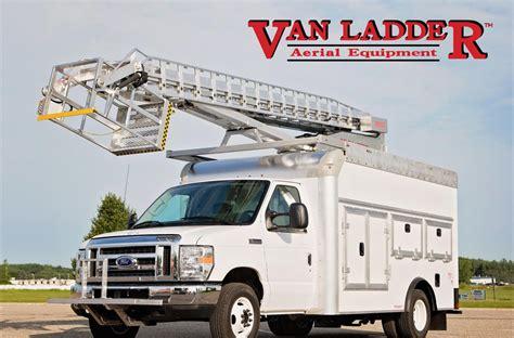 truck van aerial bucket truck 3928tgh by van ladder video aerial